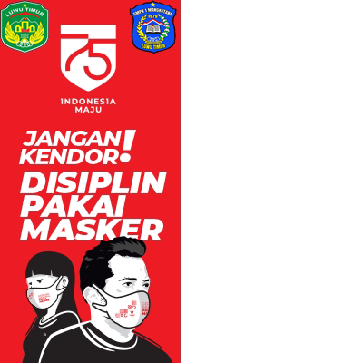 Twibbonize SMP Negeri 1 Mangkutana